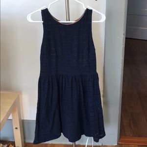 Madison Jules knee-length navy blue dress